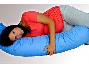 Kojící polštář/relaxační poduška - modrá
