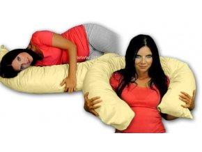 Kojící polštář/relaxační poduška - béžová