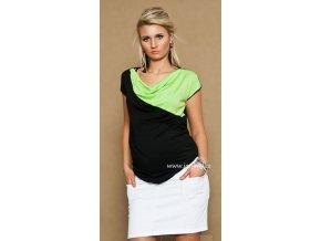 Těhotenská sukně s kapsami Jeans bílá