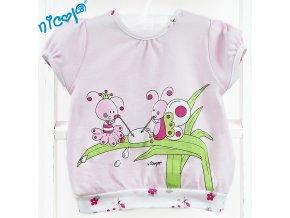 Tričko - Broučci růžoví, vel. 68