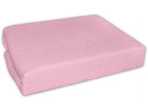 Prostěradlo - růžové