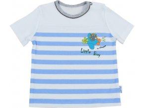Tričko s krátkým rukávem - Letec modrý, vel. 86