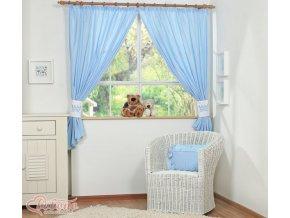 Závěsy - Little prince modrý