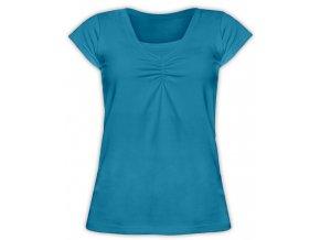 Kojící tričko s krátkým rukávem - Klaudie mořská