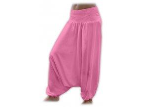 Turecké kalhoty - růžové