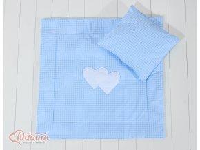 Sada - Srdíčka kostička modrá