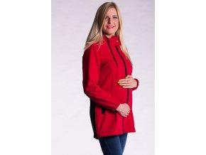 Softshellová bunda 2v1 - červená