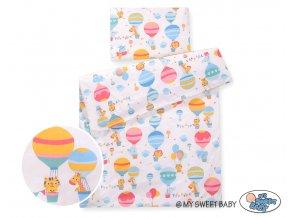 Povlečení - Happy ballons růžová