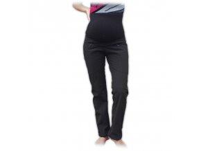 Softshellové těhotenské kalhoty Silvie černé, vel. 38 a 40