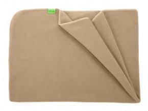 fleece deka lehka 1 vrstva 70x100cm