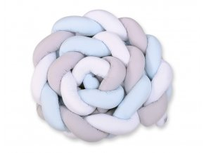 bílo šedo modrý