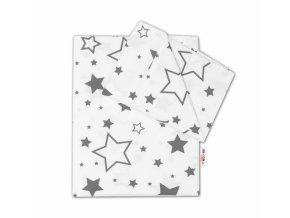 hvězdy a hvězdičky šedé 2D