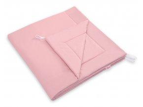 špinavě růžová deka