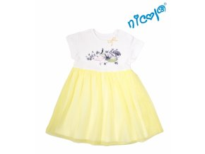 mořská víla šaty žlutá