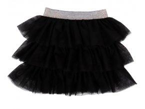 puntíčky sukně tutu černá