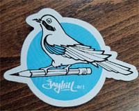 jayhill.art obráze logo sojčák