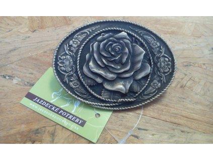 Westernová spona na opasok ruža Jazdecké potreby nz