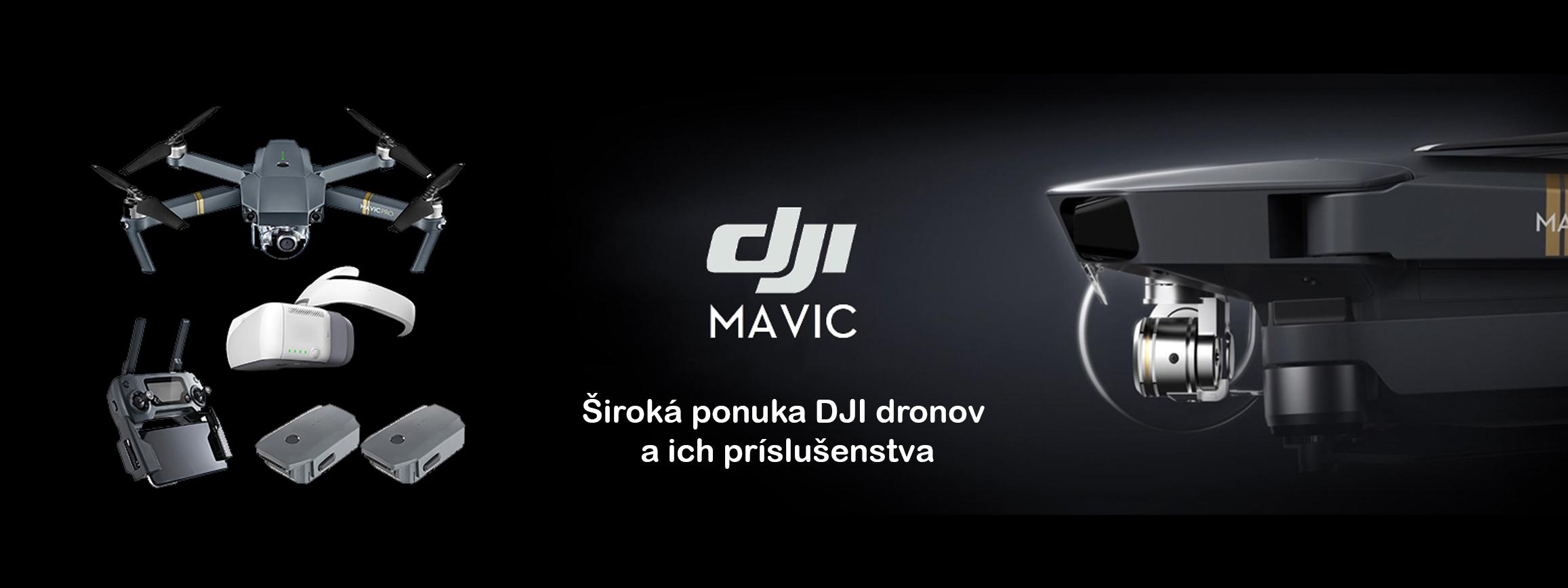 DJI drony
