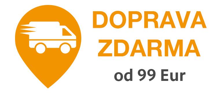 Doprava zdarma od 99 Eur