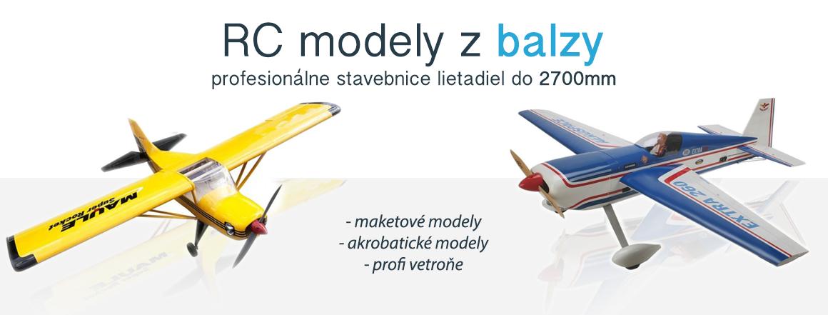 RC lietadlá z balzy