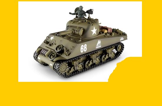 RC tanky