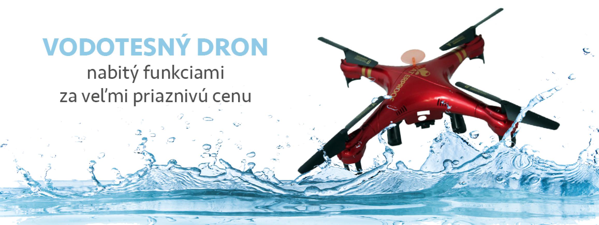 Vodotesný dron