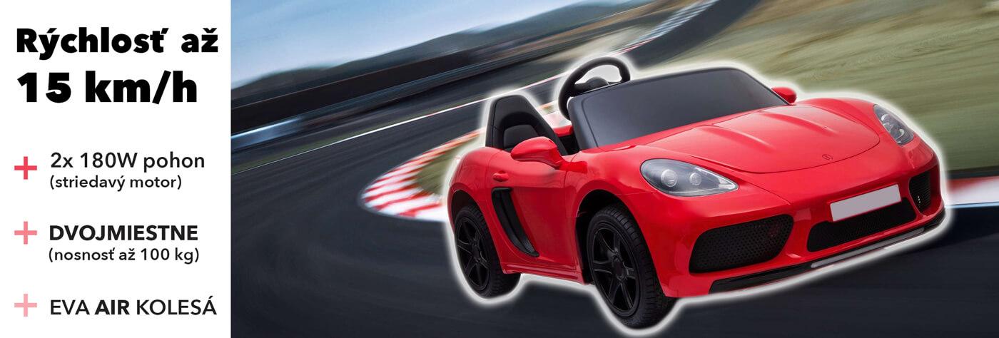 Elektricke auticko Super-sport XL 24v 2x2 180w