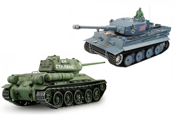Sady rc tankov