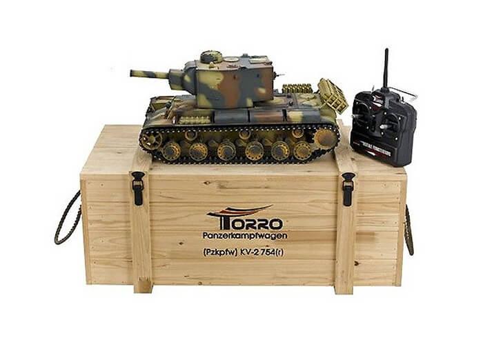 RC profi celokovové tanky