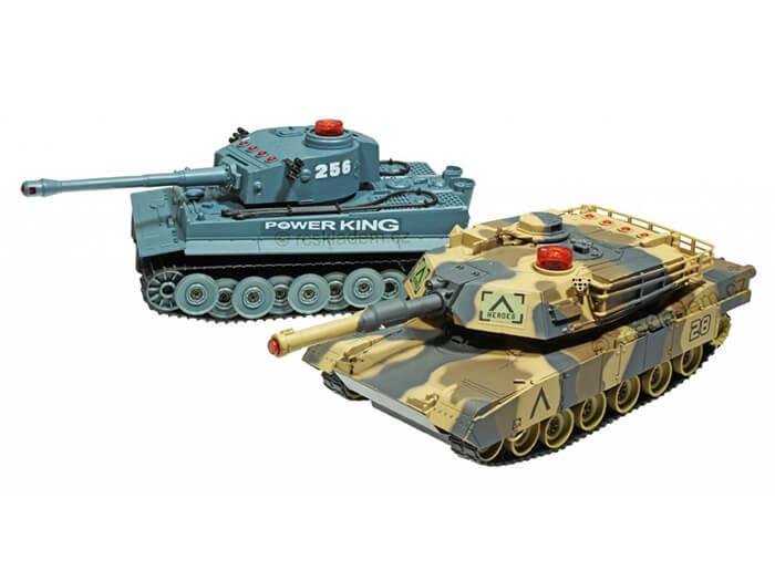 RC tank infra