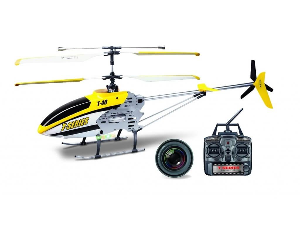 RC vrtulníky s kamerou