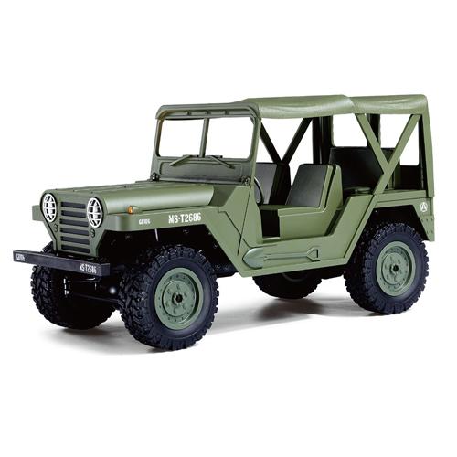 Vojenské rc auta