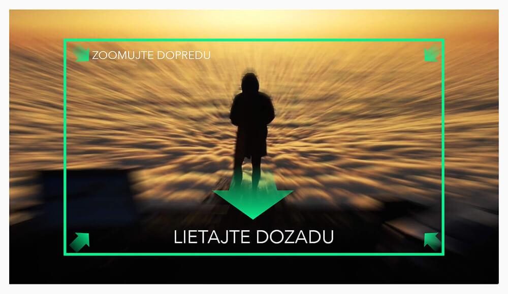 DJI MAVIC 2 ZOOM Používajte zoom počas letu