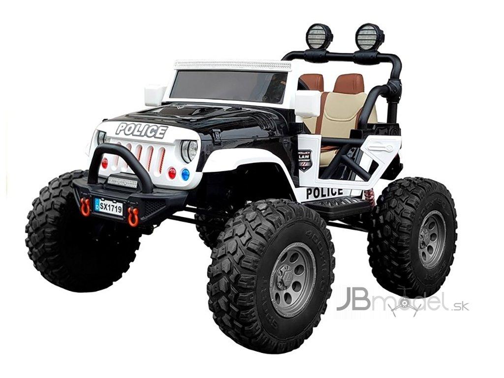 Elektrické autíčko Jeep Polícia 4x45W