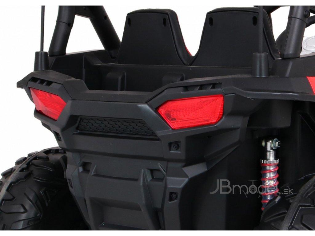 Elektrické autíčko JEEP UTV-BOM 2x80W biela