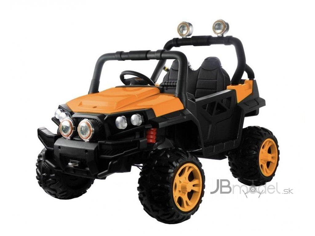 Elektrické autíčko JEEP UTV 4x45W oranžová