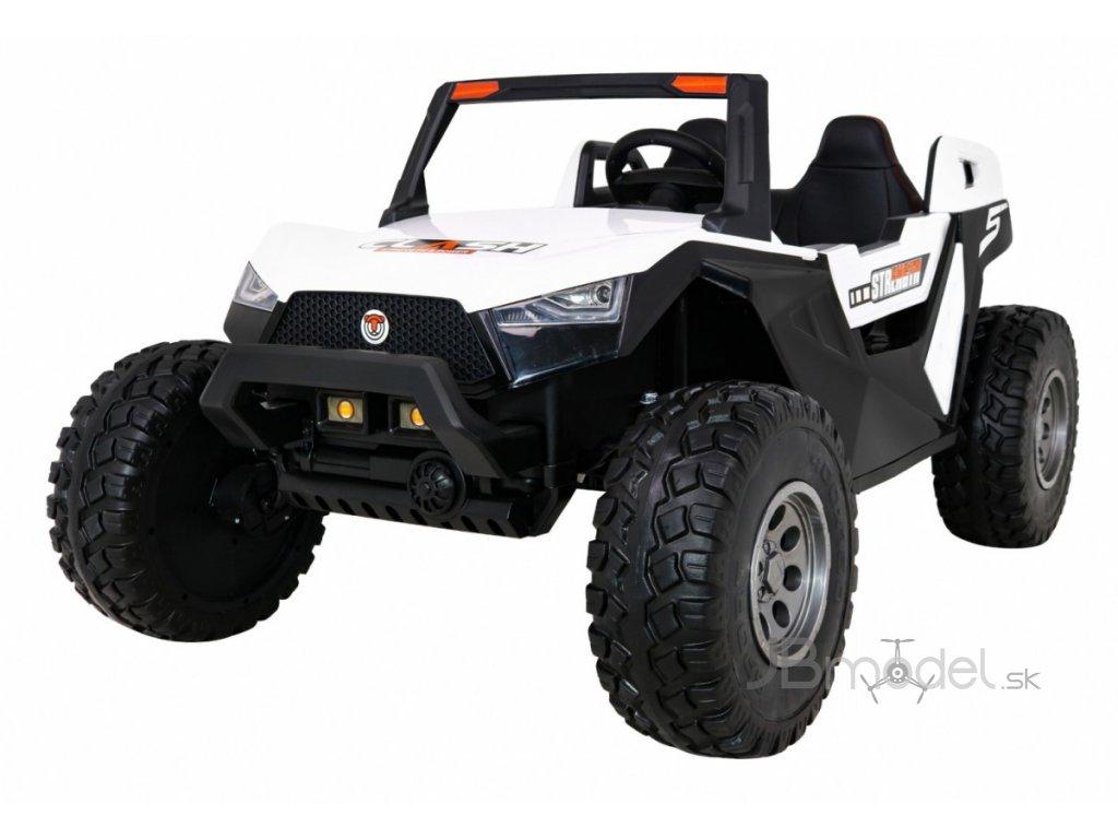 Elektrické autíčko JEEP UTV-CLASH 4x55W červená