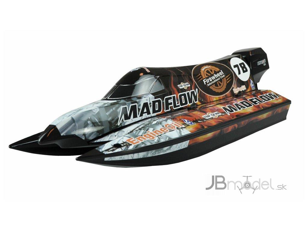 RC loď MAD FLOW V3 brushless ARTR 1:1