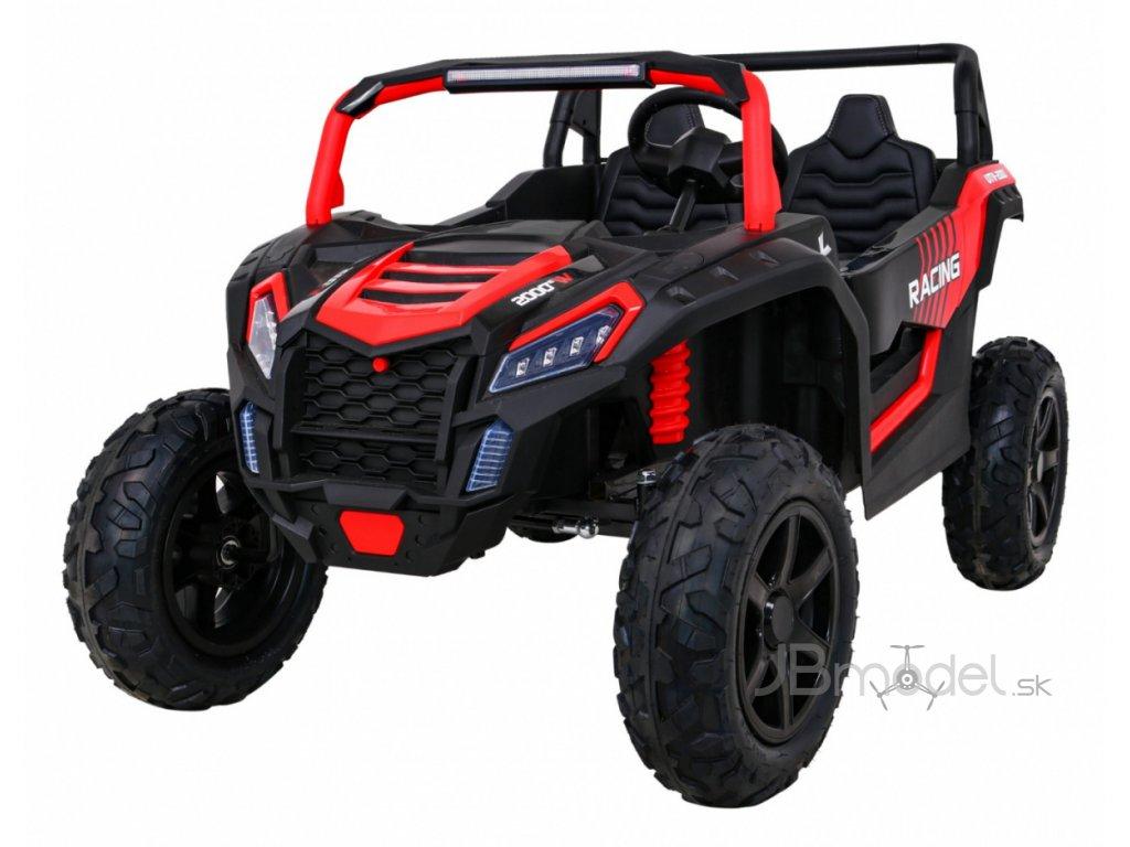Elektricke autíčko UTV-2000 STRONG 24V 2x180W červená