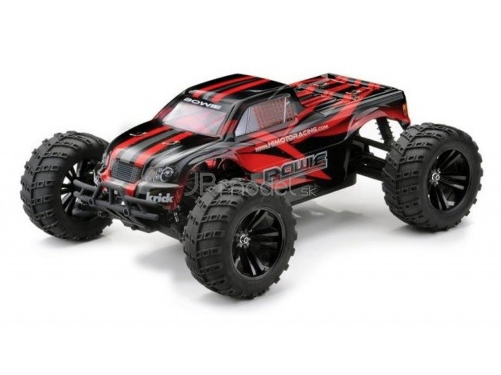 RC auto Bowie Brushless 4x4 RTR 1:10