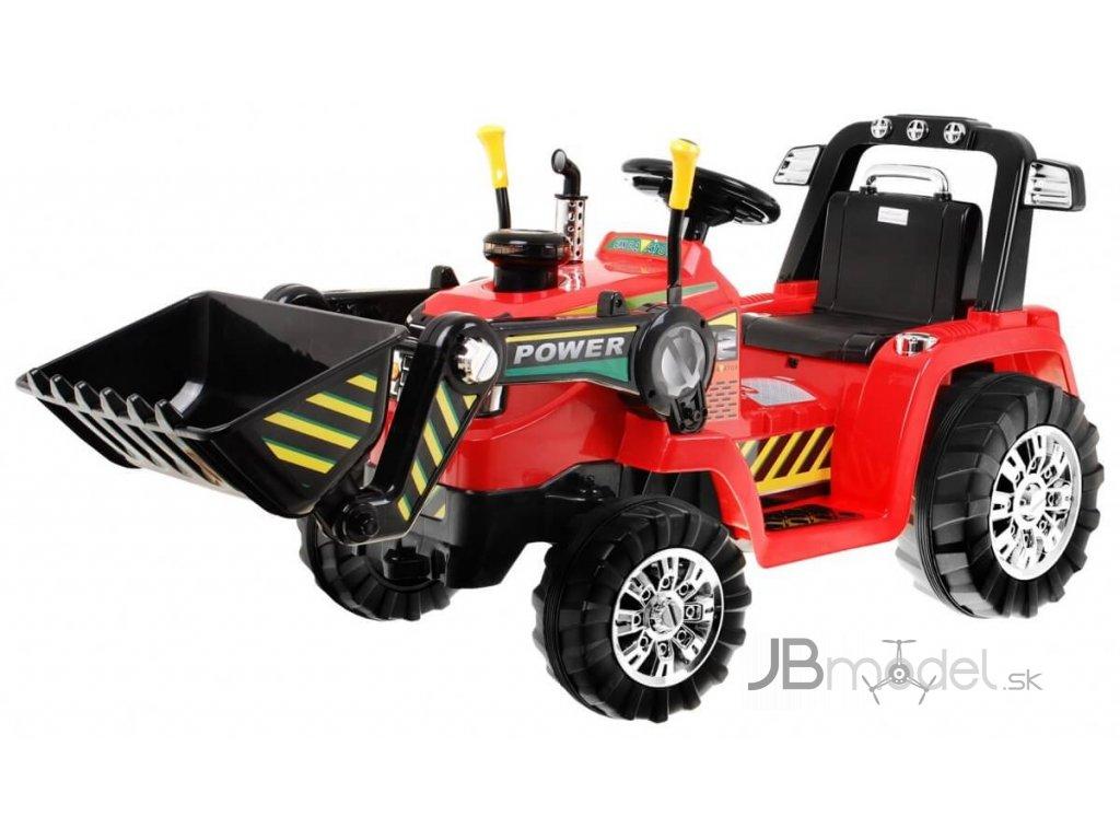 Elektrický traktor pre deti s radlicou 12V