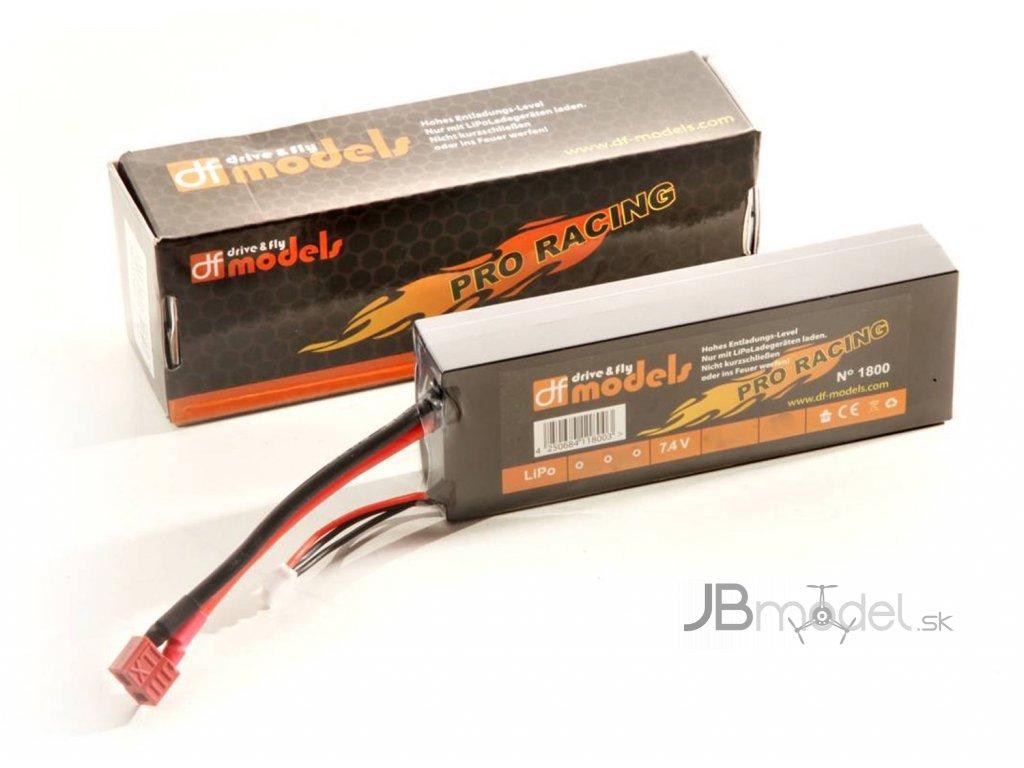 akumulátor pre rc autá 7.4v 5200mAh - PRO RACING