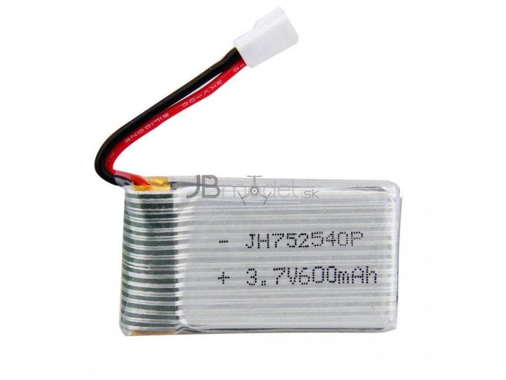 Náhradný silnejší akumulátor 3.7v 600mAh (Syma X5, X5SW, X5SC)