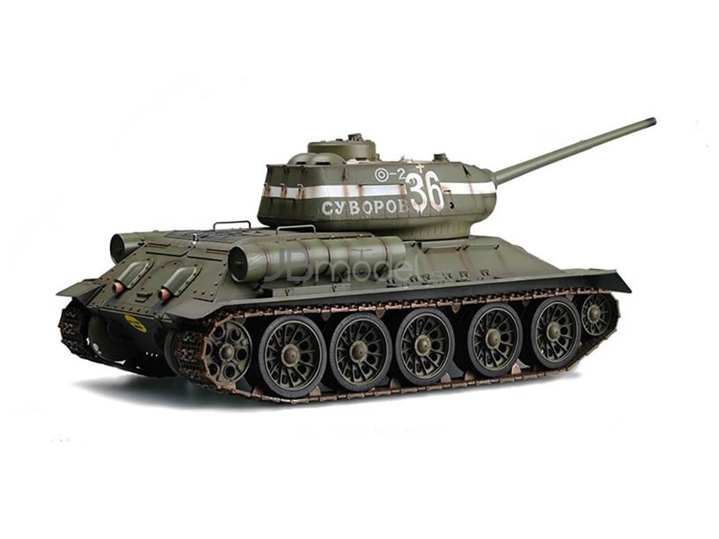 Rc Tank T 34 85 Russian Quot Rudy Quot 1 16 Rtr 2 4 Ghz Ir