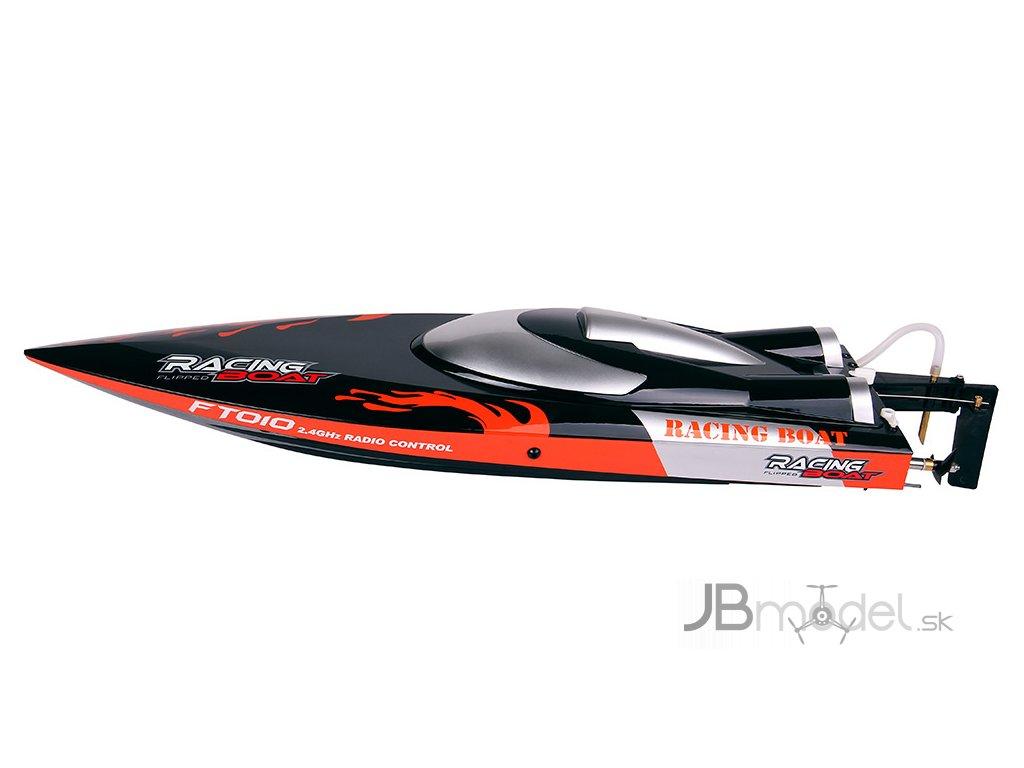 Závodný športový čln FT010 2,4 GHz