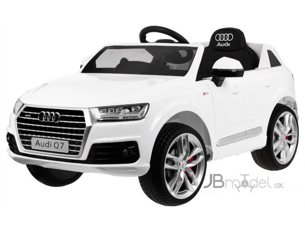 Elektrické autíčko Audi Q7 2x45W biela