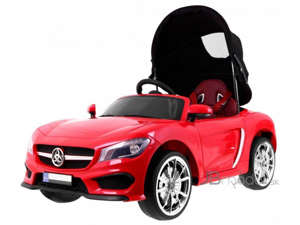 Elektrické autíčko typu kabriolet