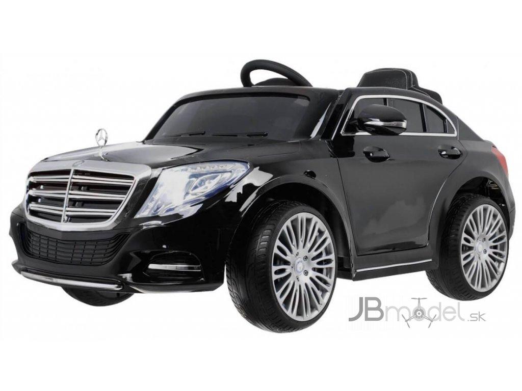 Elektrické autíčko Mercedes S600 EVA kolesá 12V ORIGINAL licencia