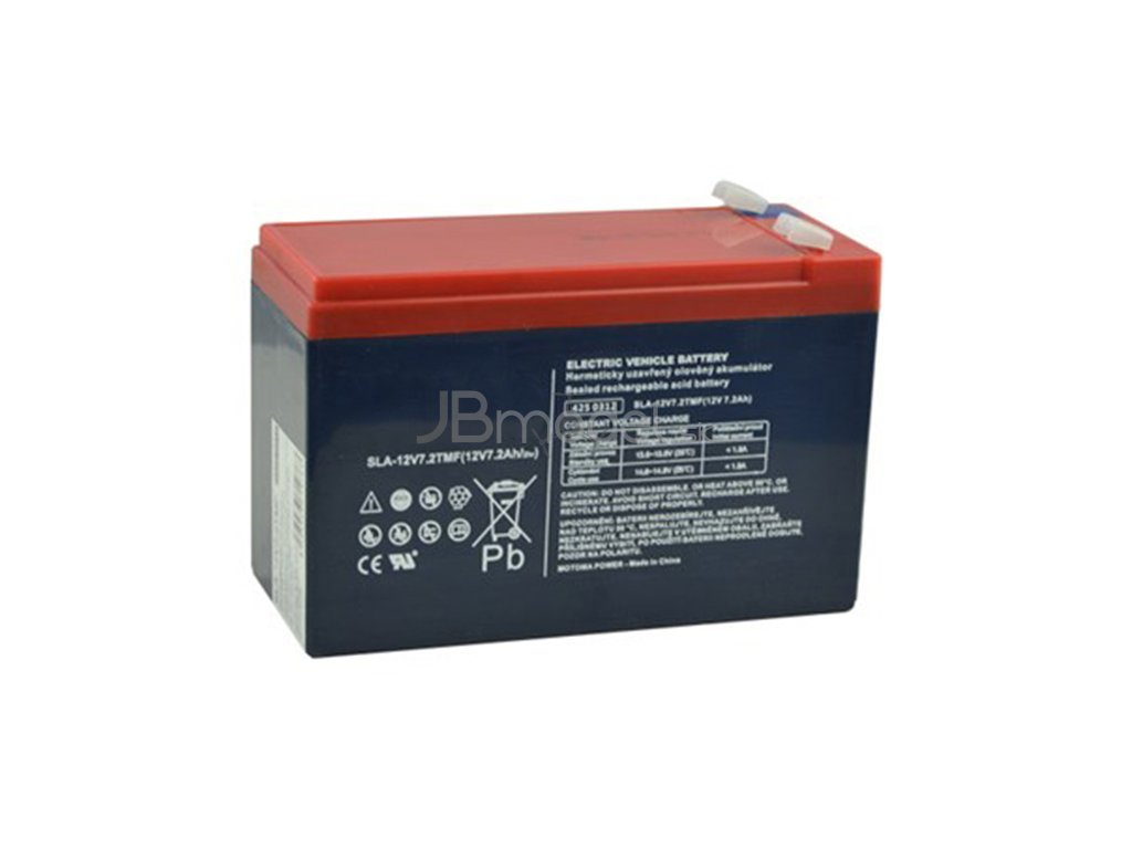 Náhradná batéria trakčná pre elektrické autíčka 12v / 7,5AH