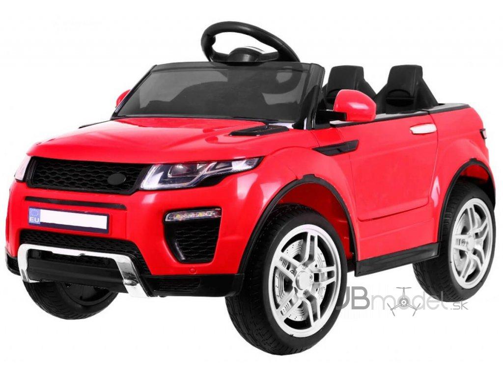 Elektrické autíčko Rapid typu Range Rover 12V